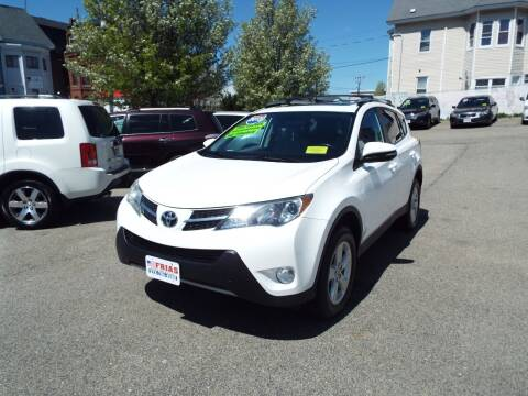 2013 Toyota RAV4 for sale at FRIAS AUTO SALES LLC in Lawrence MA