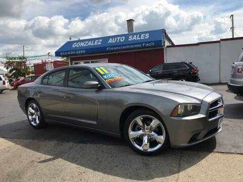 2011 Dodge Charger for sale at Gonzalez Auto Sales in Joliet IL