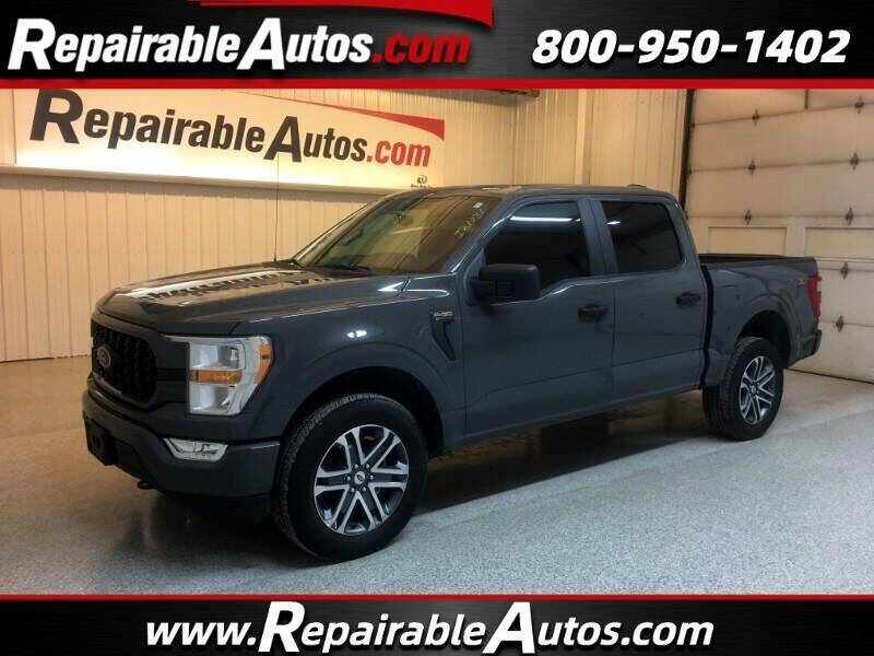 2021 Ford F-150 for sale at Ken's Auto in Strasburg ND
