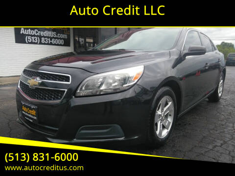 2013 Chevrolet Malibu for sale at Auto Credit LLC in Milford OH