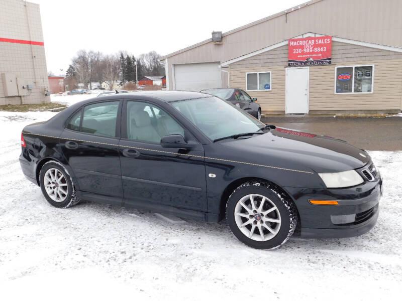 2004 Saab 9-3 for sale at Macrocar Sales Inc in Akron OH