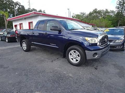 2008 Toyota Tundra for sale at DONNY MILLS AUTO SALES in Largo FL