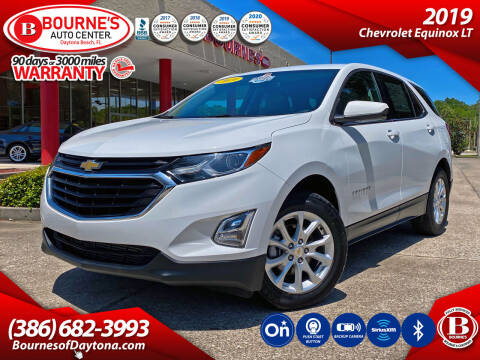 2019 Chevrolet Equinox for sale at Bourne's Auto Center in Daytona Beach FL