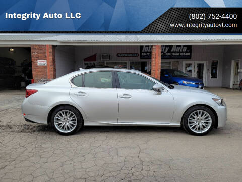 2013 Lexus GS 350 for sale at Integrity Auto LLC - Integrity Auto 2.0 in St. Albans VT