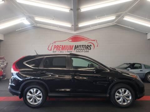 2014 Honda CR-V for sale at Premium Motors in Villa Park IL