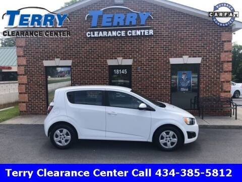 2014 Chevrolet Sonic for sale at Terry Clearance Center in Lynchburg VA