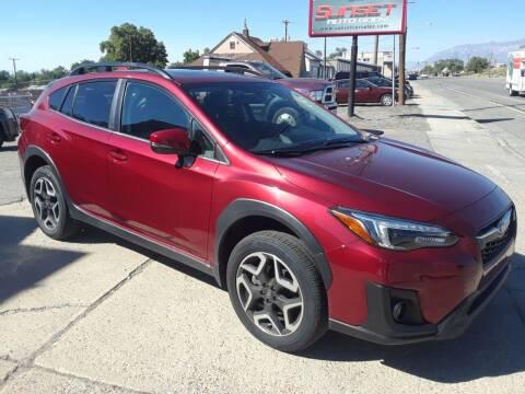 2019 Subaru Crosstrek for sale at Sunset Auto Body in Sunset UT