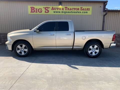2011 RAM Ram Pickup 1500 for sale at BIG 'S' AUTO & TRACTOR SALES in Blanchard OK