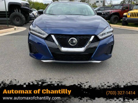 2019 Nissan Maxima for sale at Automax of Chantilly in Chantilly VA