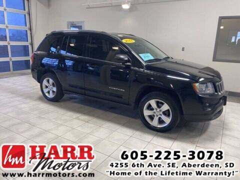 2012 Jeep Compass for sale at Harr's Redfield Ford in Redfield SD
