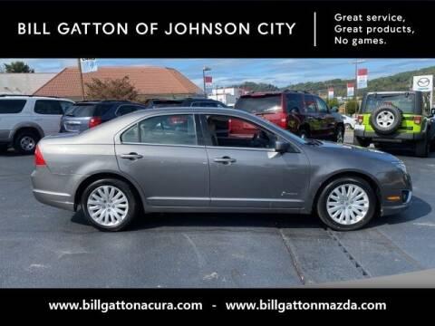 2010 Ford Fusion Hybrid for sale at Bill Gatton Used Cars - BILL GATTON ACURA MAZDA in Johnson City TN