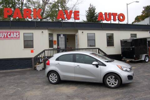 2012 Kia Rio 5-Door for sale at Park Ave Auto Inc. in Worcester MA