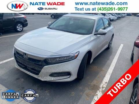 2018 Honda Accord for sale at NATE WADE SUBARU in Salt Lake City UT