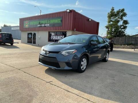 2014 Toyota Corolla for sale at Southwest Sports & Imports in Oklahoma City OK