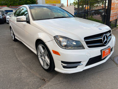 2014 Mercedes-Benz C-Class for sale at TOP SHELF AUTOMOTIVE in Newark NJ