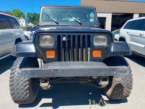 1992 Jeep Wrangler for sale at Story Brothers Auto in New Britain CT