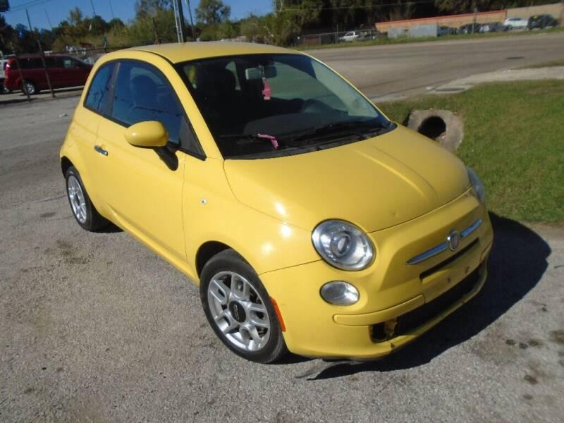 2013 FIAT 500 for sale at SCOTT HARRISON MOTOR CO in Houston TX