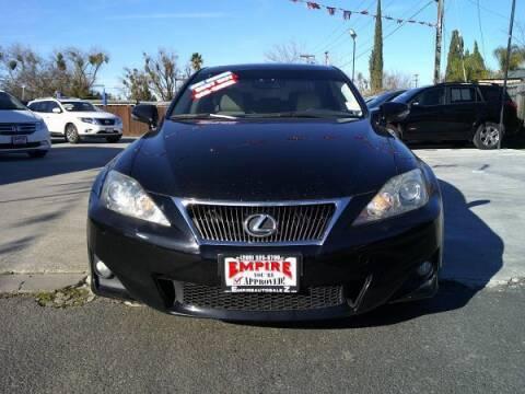 2011 Lexus IS 250 for sale at Empire Auto Sales in Modesto CA