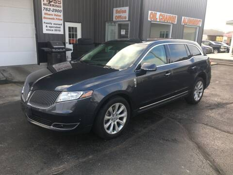 2014 Lincoln MKT for sale at Hoss Sage City Motors, Inc in Monticello IL