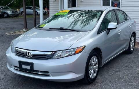 2012 Honda Civic for sale at Landmark Auto Sales Inc in Attleboro MA