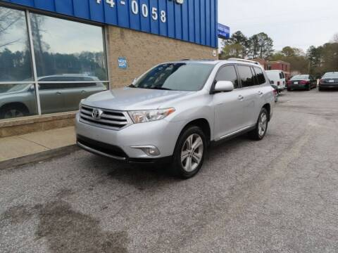2012 Toyota Highlander for sale at Southern Auto Solutions - 1st Choice Autos in Marietta GA