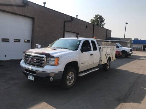 2012 GMC Sierra 2500HD for sale at Crown Motor Inc in Grand Forks ND
