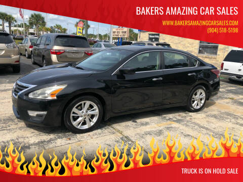 2013 Nissan Altima for sale at Bakers Amazing Car Sales in Jacksonville FL