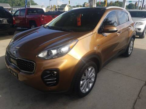 2017 Kia Sportage for sale at SpringField Select Autos in Springfield IL