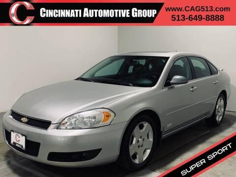 2006 Chevrolet Impala for sale at Cincinnati Automotive Group in Lebanon OH