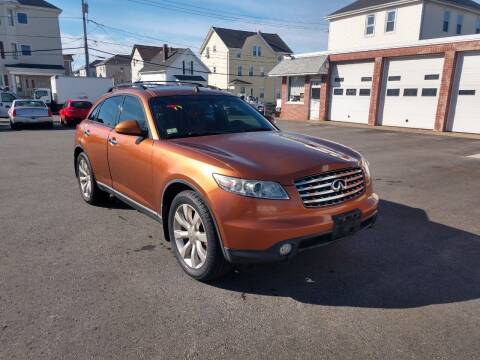 2003 Infiniti FX35 for sale at A J Auto Sales in Fall River MA
