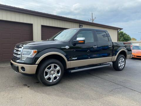 2013 Ford F-150 for sale at Ryans Auto Sales in Muncie IN
