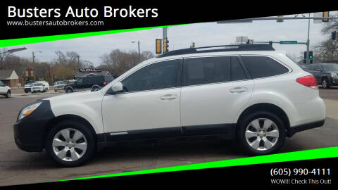 2010 Subaru Outback for sale at Busters Auto Brokers in Mitchell SD