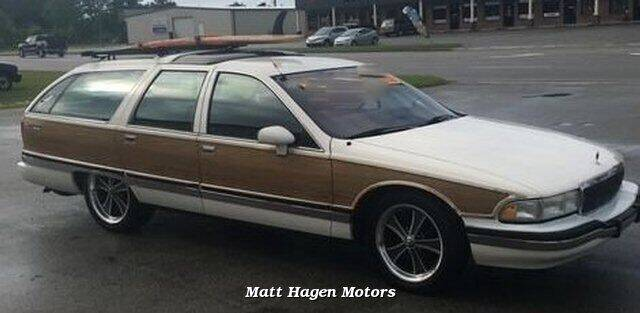 1992 Buick Roadmaster for sale at Matt Hagen Motors in Newport NC