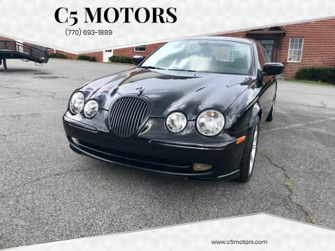 2002 Jaguar S-Type for sale at C5 Motors in Marietta GA