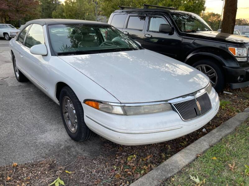 1995 Lincoln Mark VIII for sale at Black Tie Classics in Stratford NJ