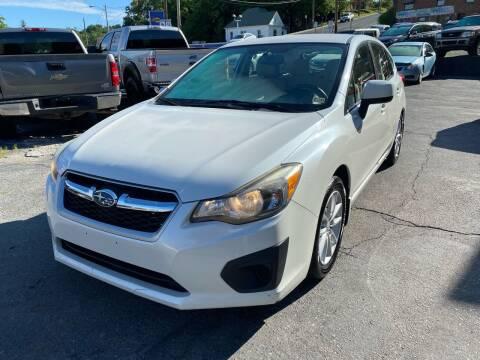 2013 Subaru Impreza for sale at East Main Rides in Marion VA