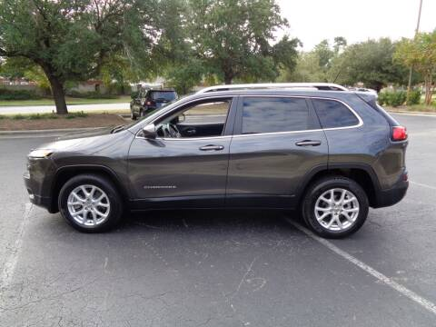 2015 Jeep Cherokee for sale at BALKCUM AUTO INC in Wilmington NC