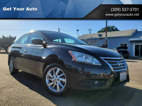 2014 Nissan Sentra for sale at Get Your Auto in Ceres CA