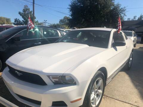 2010 Ford Mustang for sale at S & J Auto Group in San Antonio TX