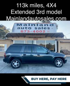 2004 Chevrolet TrailBlazer EXT for sale at Mainland Auto Sales Inc in Daytona Beach FL