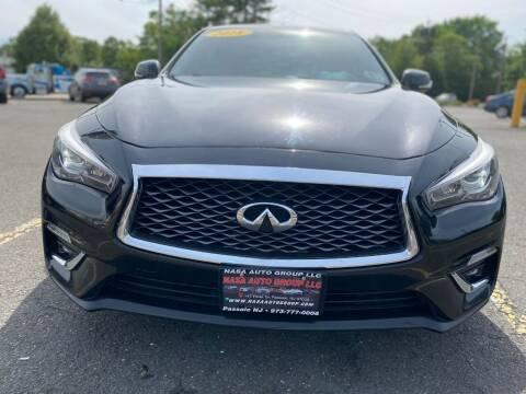 2018 Infiniti Q50 for sale at Nasa Auto Group LLC in Passaic NJ