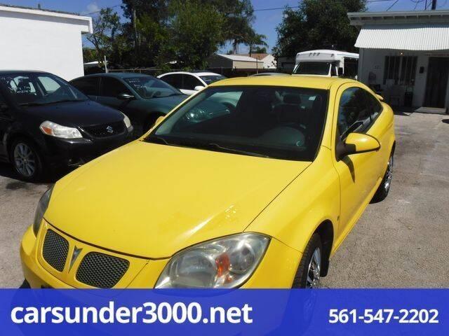 2007 Pontiac G5 for sale in Lake Worth, FL