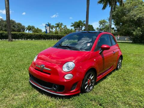 2015 FIAT 500 for sale at Nation Autos Miami in Hialeah FL