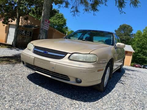 2001 Chevrolet Malibu for sale at Efficiency Auto Buyers in Milton GA