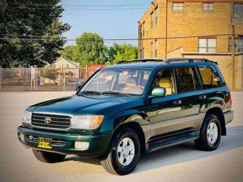 1999 Toyota Land Cruiser for sale at ARCH AUTO SALES in Saint Louis MO