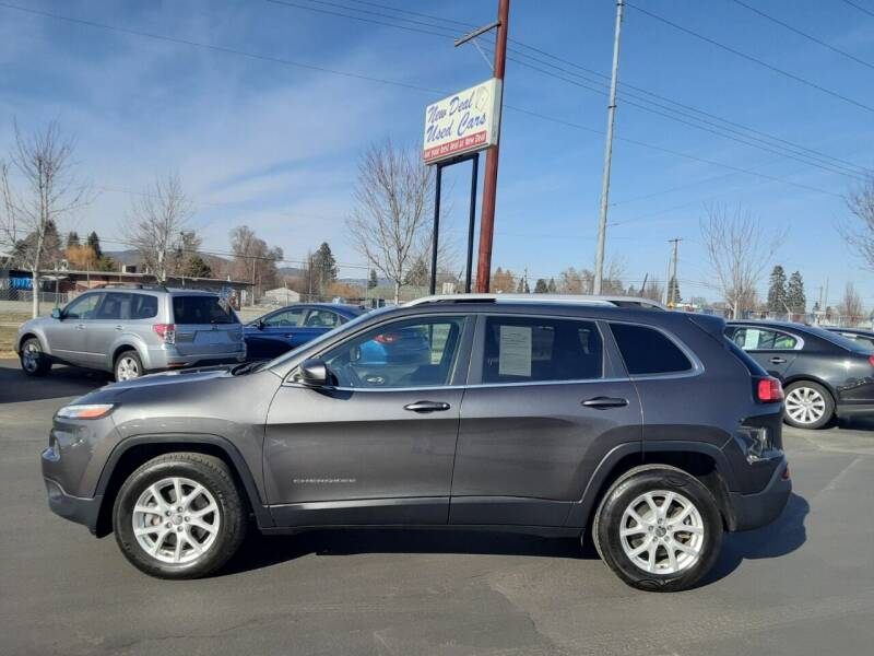2016 Jeep Cherokee for sale at New Deal Used Cars in Spokane Valley WA