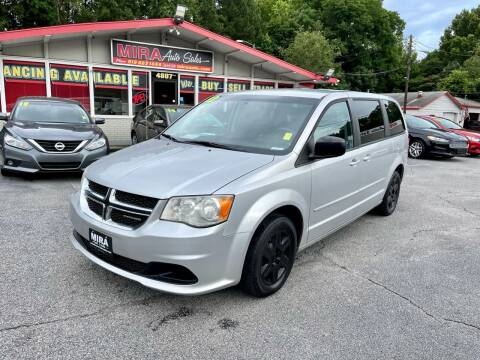 2012 Dodge Grand Caravan for sale at Mira Auto Sales in Raleigh NC