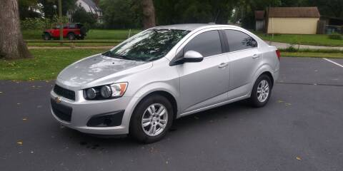 2016 Chevrolet Sonic for sale at Eddie's Auto Sales in Jeffersonville IN