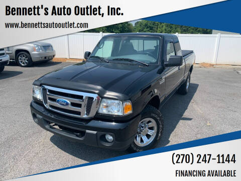 2009 Ford Ranger for sale at Bennett's Auto Outlet, Inc. in Mayfield KY