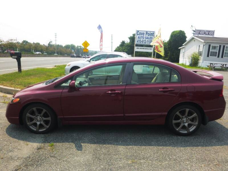 2007 Honda Civic for sale at Cove Point Auto Sales in Joppa MD